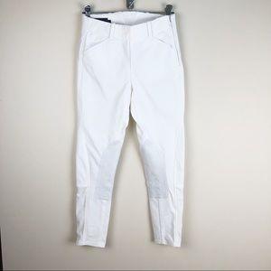 Kids ARIAT Pro Series WHITE Breeches SZ 14R Suede